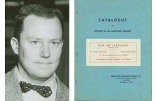 photo of A. Reynolds Ren Morse founder of IMS Company and the original IMS Catalog distributed in 1950